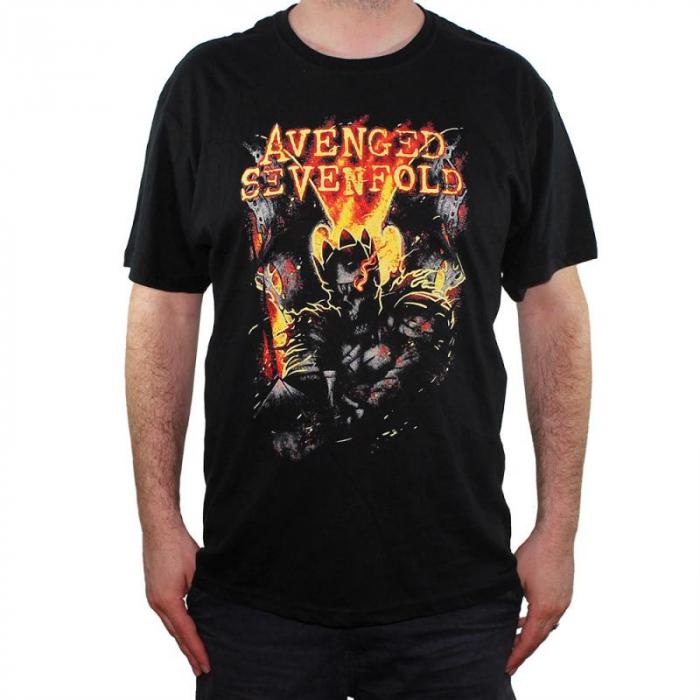 Tricou Avenged Sevenfold - Shepherd Of Fire - 145 grame 0