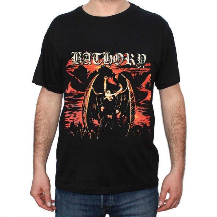 Tricou Bathory - In Memory of Quorthon - 180 grame 0