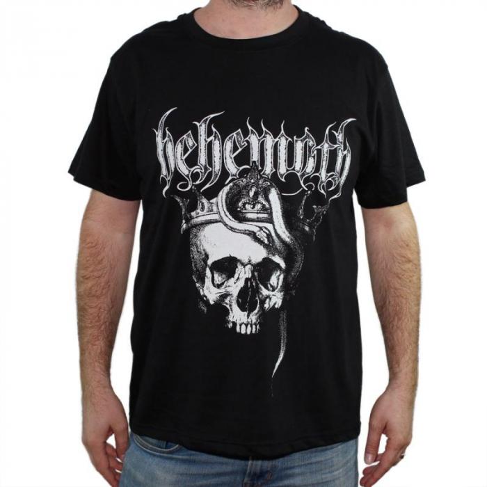 Tricou Behemoth - Skull - 180 grame 0