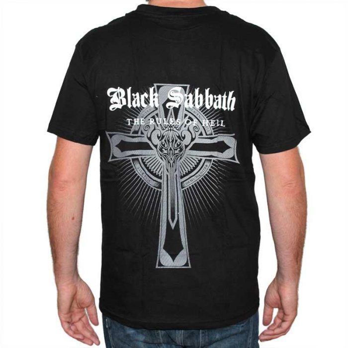Tricou Black Sabbath the Rules of Hell - 180 grame 1