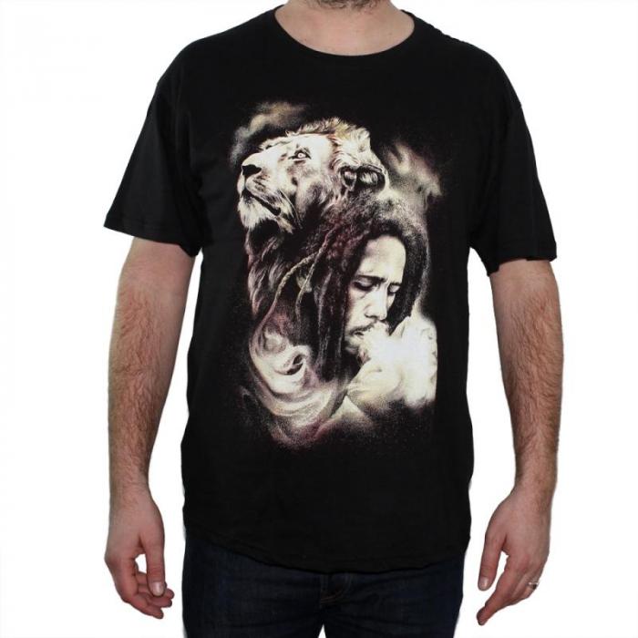Tricou Bob Marley - Lion - 145 grame 0