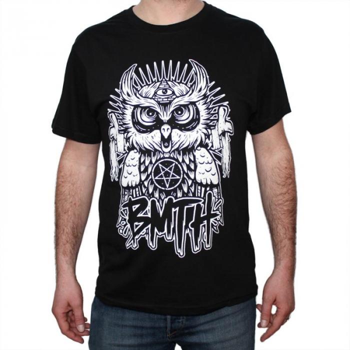 Tricou Bring Me The Horizon Owl - 180 grame 0