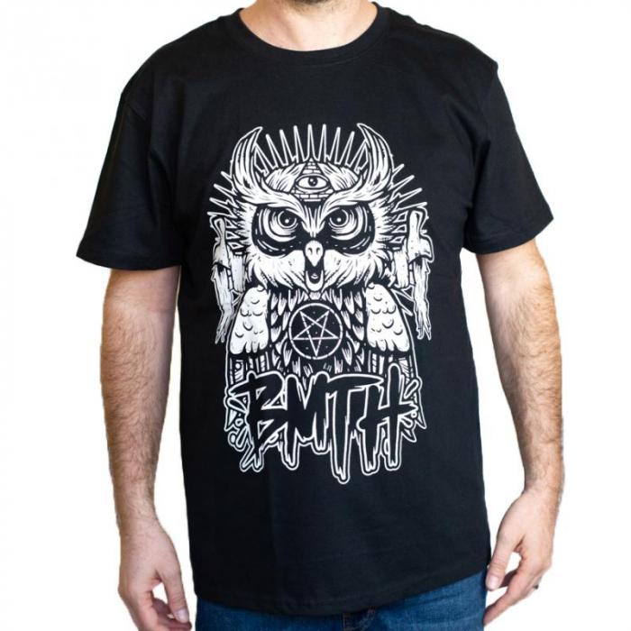 Tricou Bring Me The Horizon Owl New - 180 grame 0