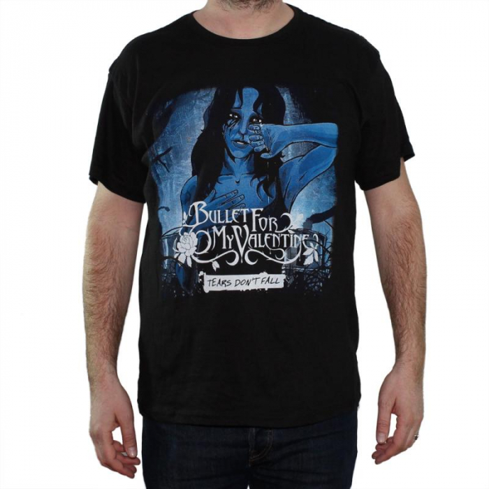 Tricou Bullet For My Valentine - Tears Don't Fall - 145 grame 0