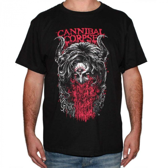 Tricou Cannibal Corpse - 3rd Eye -180 grame 0