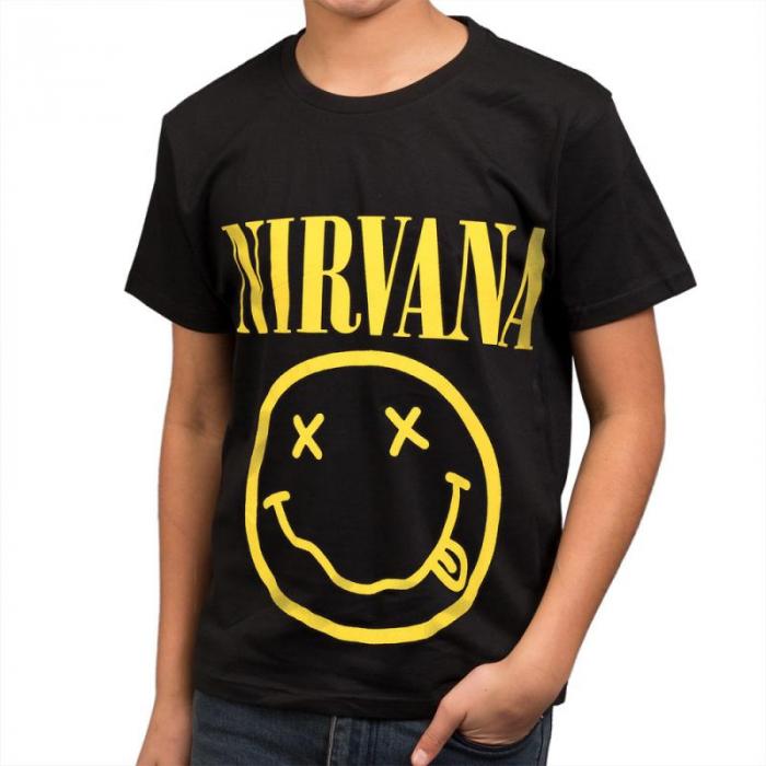 Tricou Copii - Nirvana - Smiley - 150 grame 0