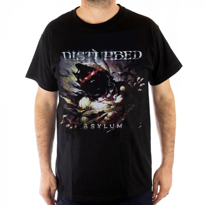 Tricou Disturbed Asylum -180 grame 0