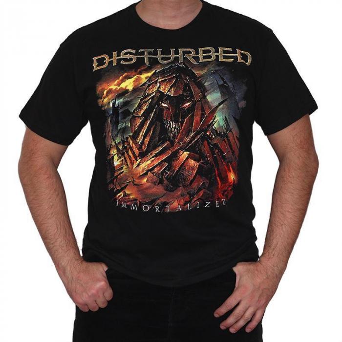 Tricou Disturbed - Immortalized 2 - 145 grame 0