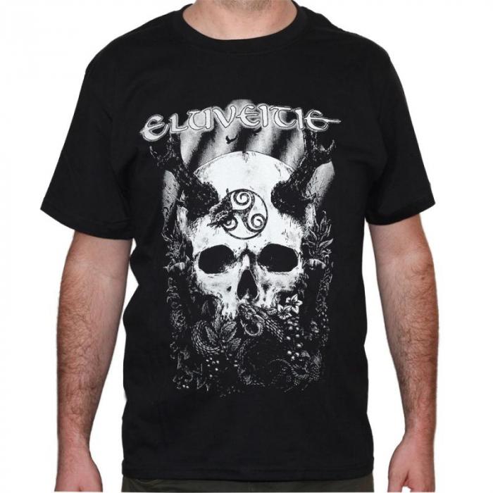 Tricou Eluveitie - Skull - 180 grame 0