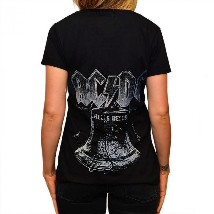 Tricou Femei AC DC - Hells Bells 1