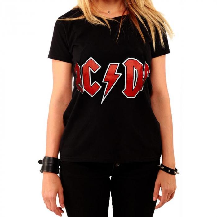 Tricou Femei AC/DC - LOGO 0