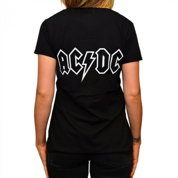 Tricou Femei AC DC- Rock Evolution 1