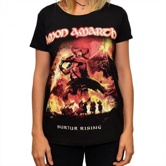 Tricou Femei Amon Amarth -Surtur Rising 0