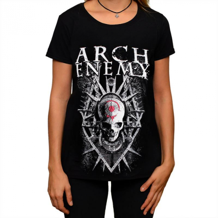 Tricou Femei Arch Enemy - Skull 0
