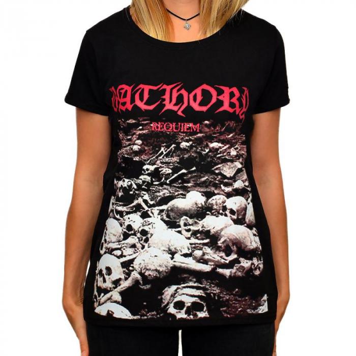 Tricou Femei Bathory - Requiem 0