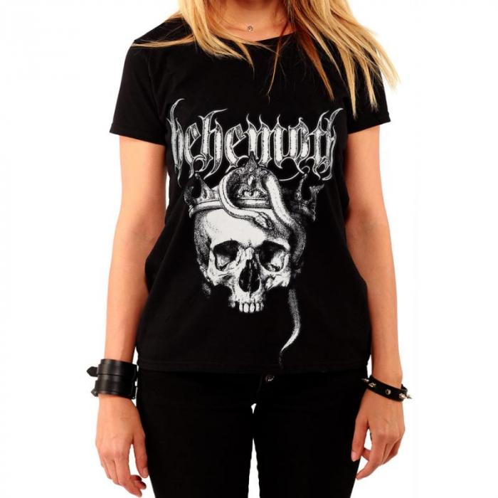 Tricou Femei Behemoth - Skull 0