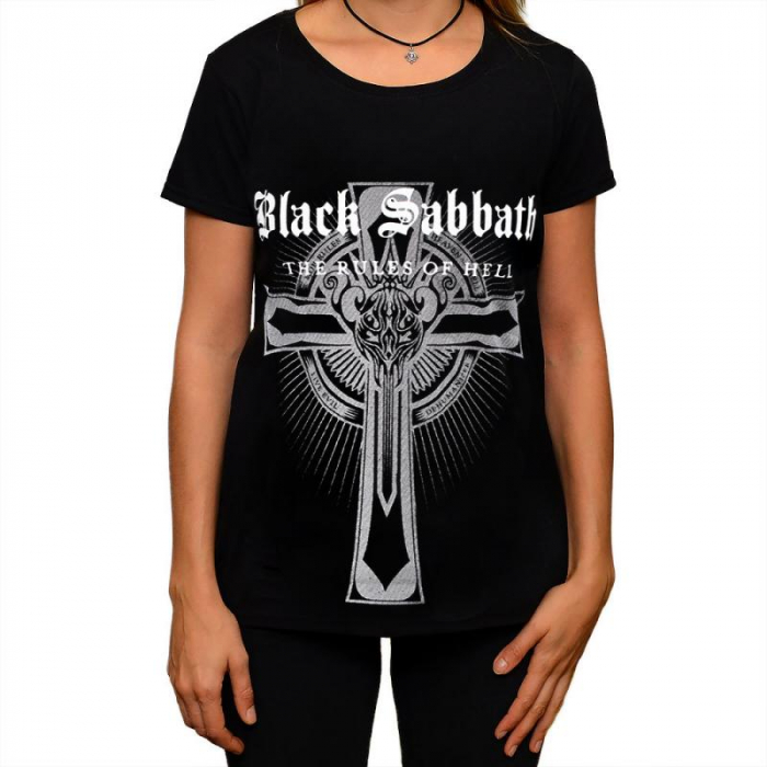 Tricou Femei Black Sabbath the Rules of Hell 0