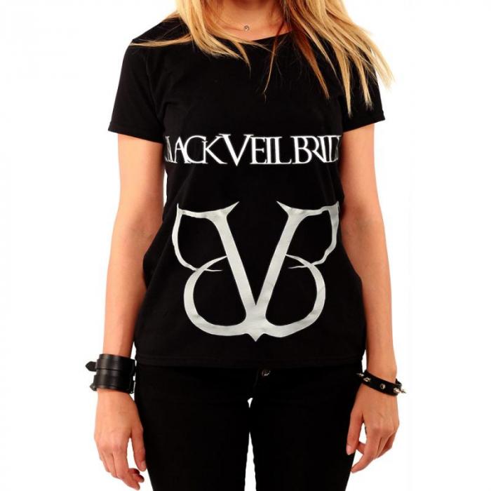 Tricou Femei Black Veil Brides - Logo 0