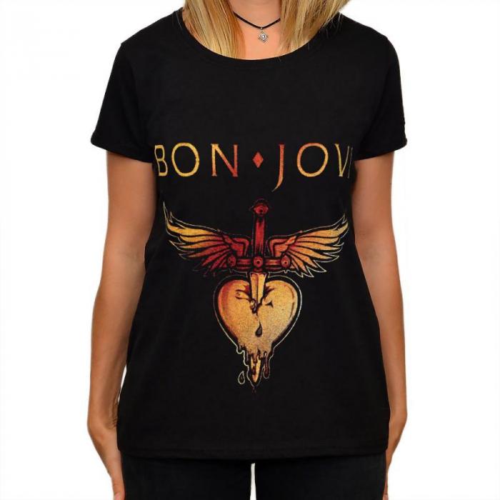 Tricou Femei Bon Jovi 0