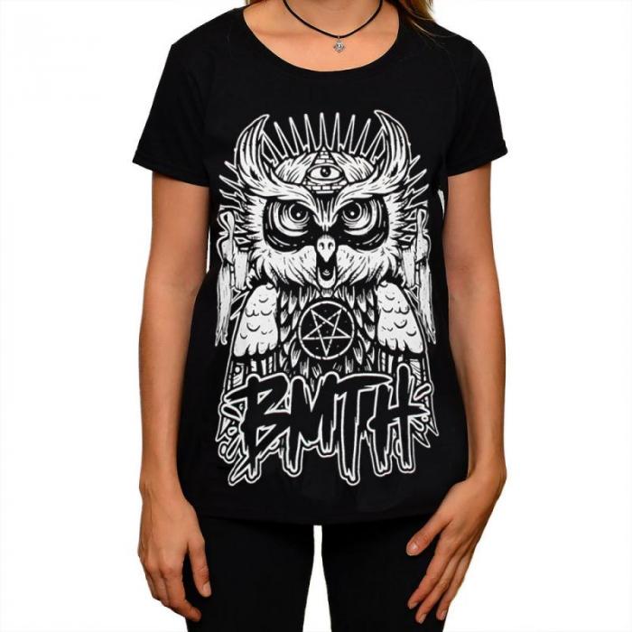 Tricou Femei Bring Me The Horizon Owl 0