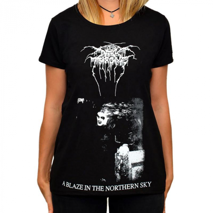 Tricou Femei Darkthrone - A Blaze In The Northern Sky 0