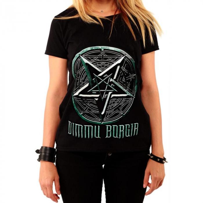 Tricou Femei Dimmu Borgir - LOGO 0