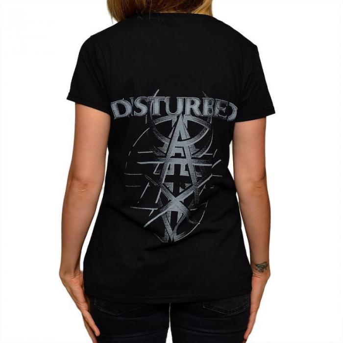 Tricou Femei Disturbed Asylum 1