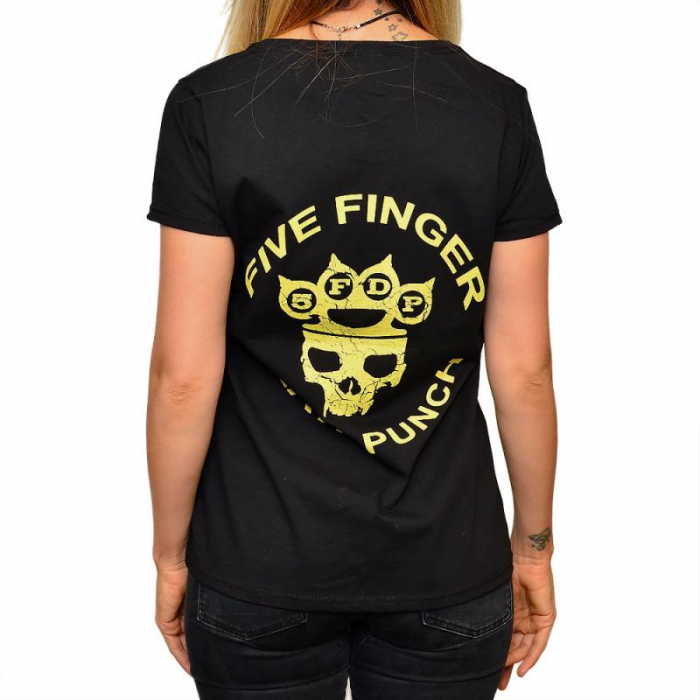 Tricou Femei Five Finger Death Punch 1