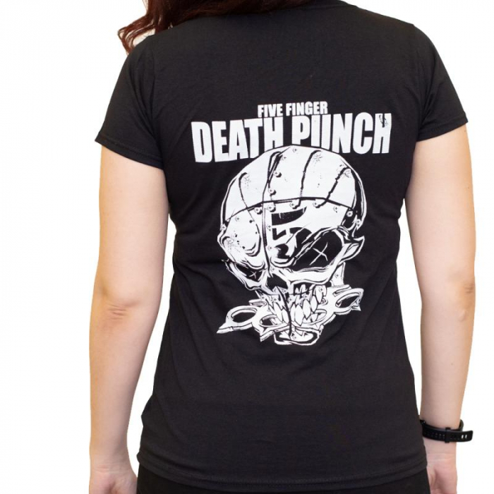 Tricou Femei Five Finger Death Punch - And Justice for None 2 1