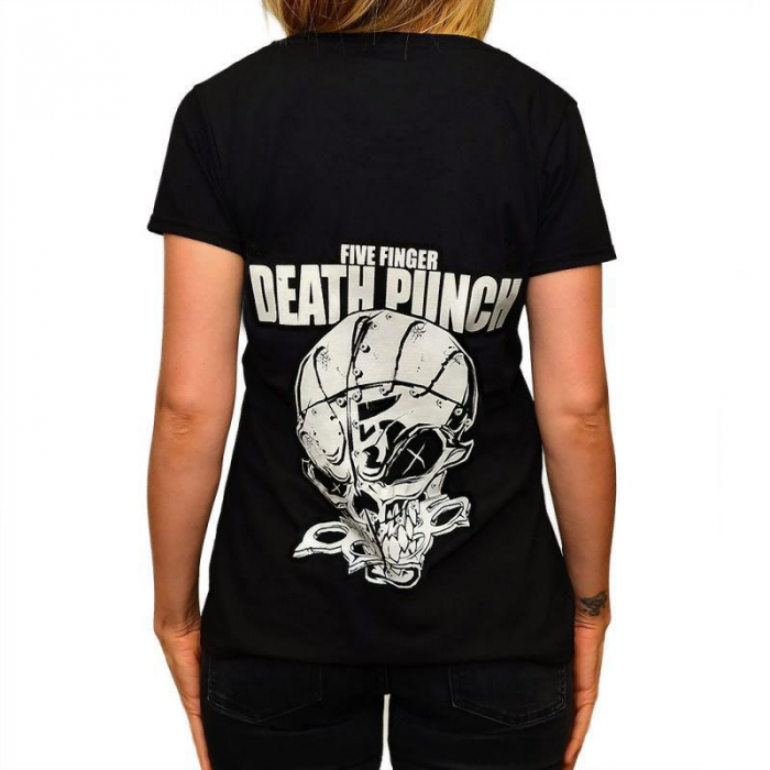 Tricou Femei Five Finger Death Punch - And Justice For None 1