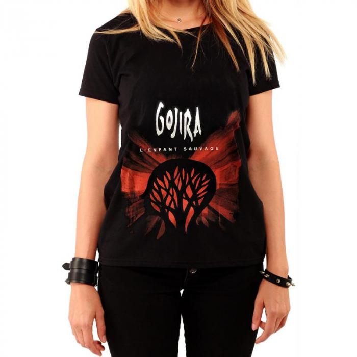 Tricou Femei Gojira - L Enfant Sauvage [0]