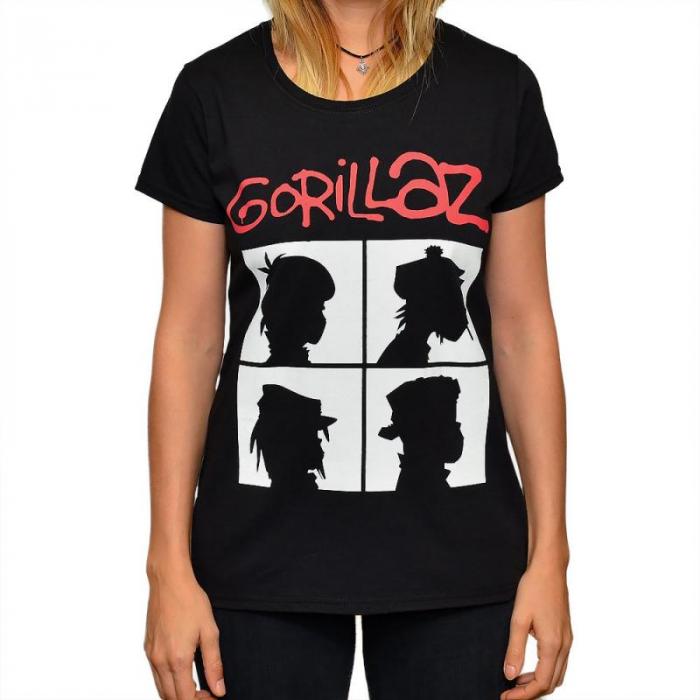 Tricou Femei Gorillaz - Demon Days 0
