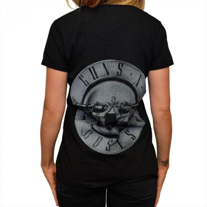 Tricou Femei Guns N Roses - Logo Band 1