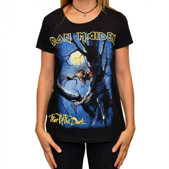 Tricou Femei Iron Maiden - Fear of the Dark 0