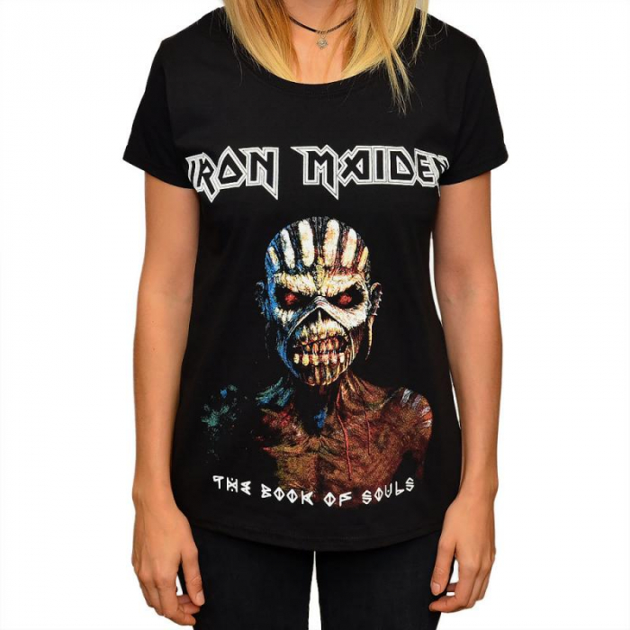 Tricou Femei Iron Maiden - The Book of Souls 0