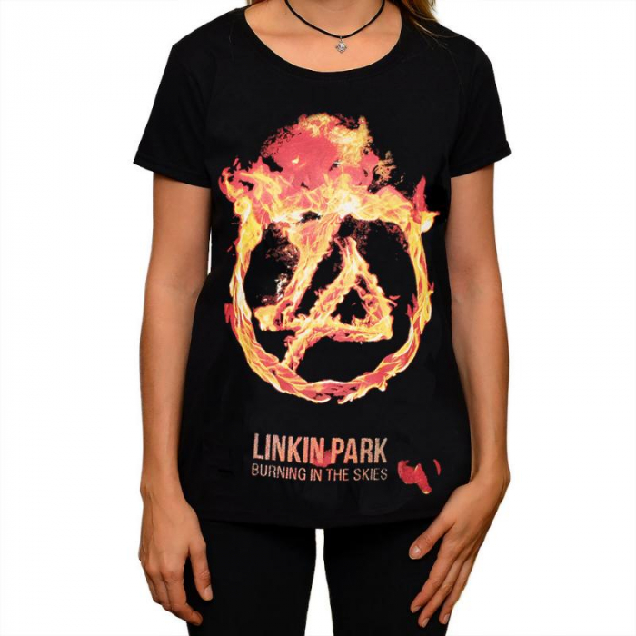 Tricou Femei Linkin Park-Burning In The Skies 0