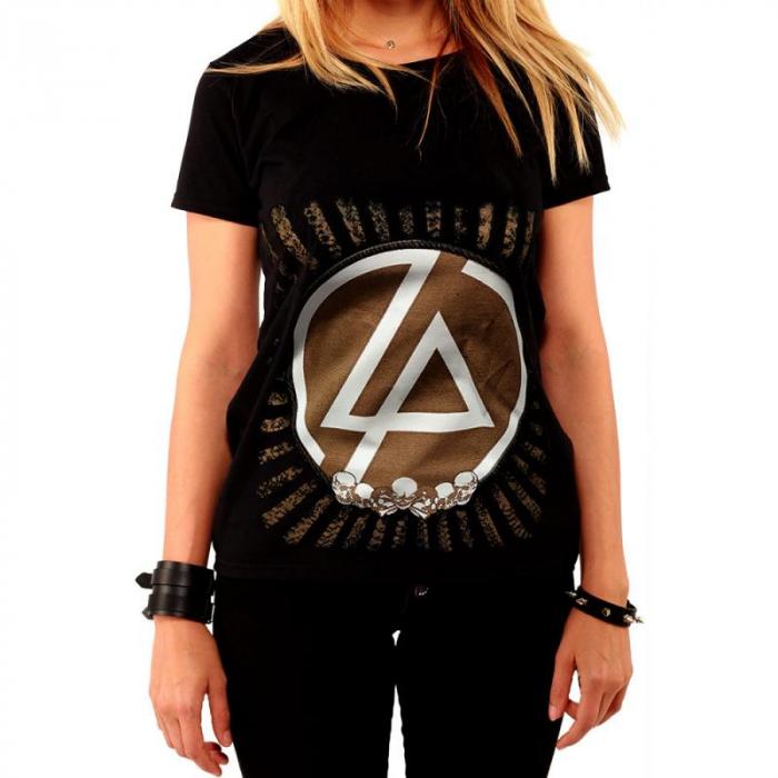 Tricou Femei Linkin Park - Skulls [0]