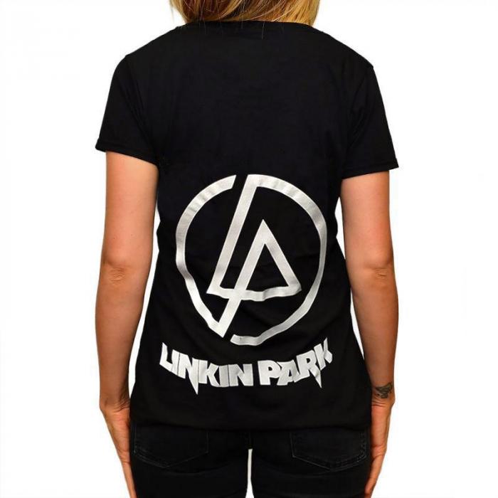 Tricou Femei Linkin Park - Skulls [1]