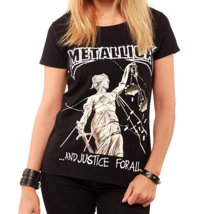 Tricou Femei Metallica - And Justice For All 0