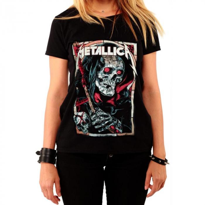 Tricou Femei Metallica - Death Reaper 0