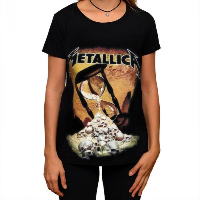 Tricou Femei Metallica - Hourglass 0
