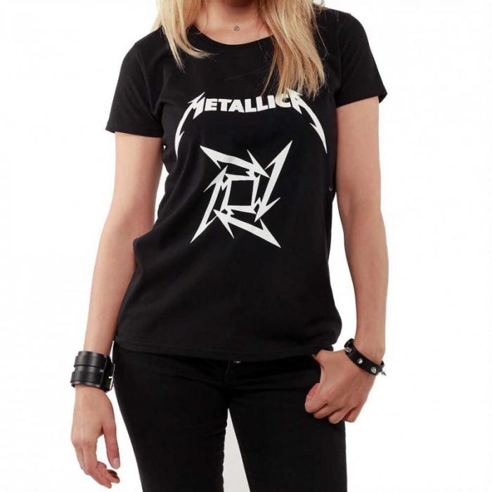 Tricou Femei Metallica LOGO 0