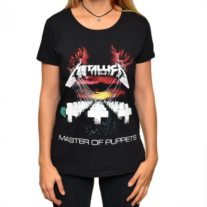 Tricou Femei Metallica - Master of Puppets 0