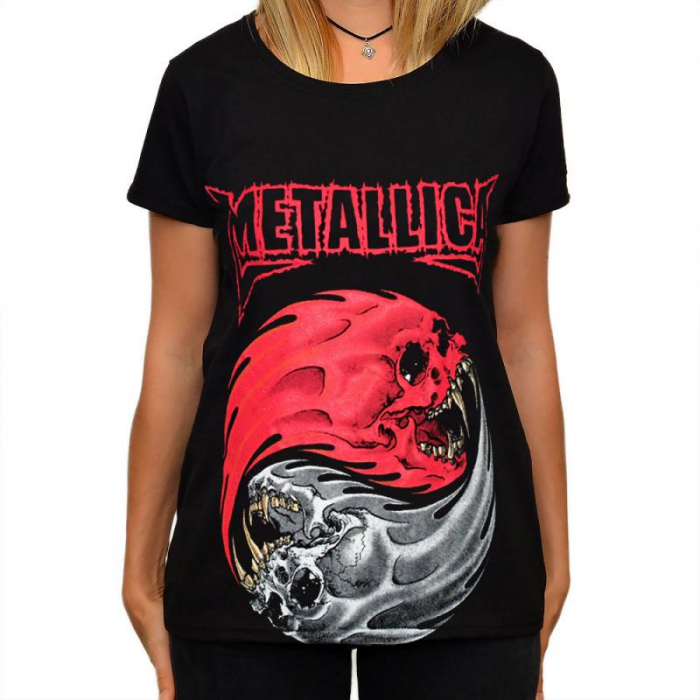 Tricou Femei Metallica - Ying si Yang [0]