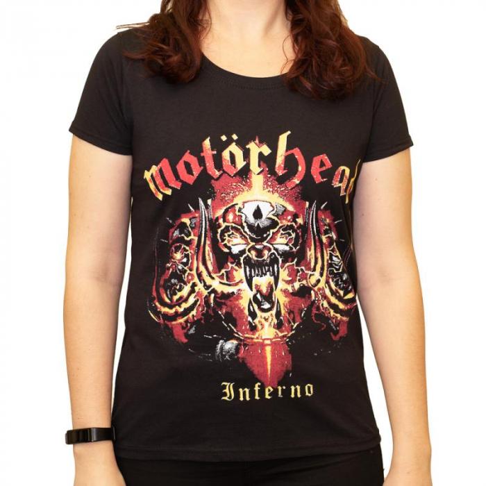Tricou Femei Motorhead - Inferno 0
