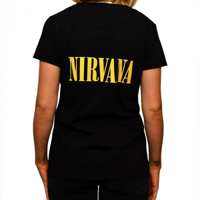 Tricou Femei Nirvana - Smiley 1
