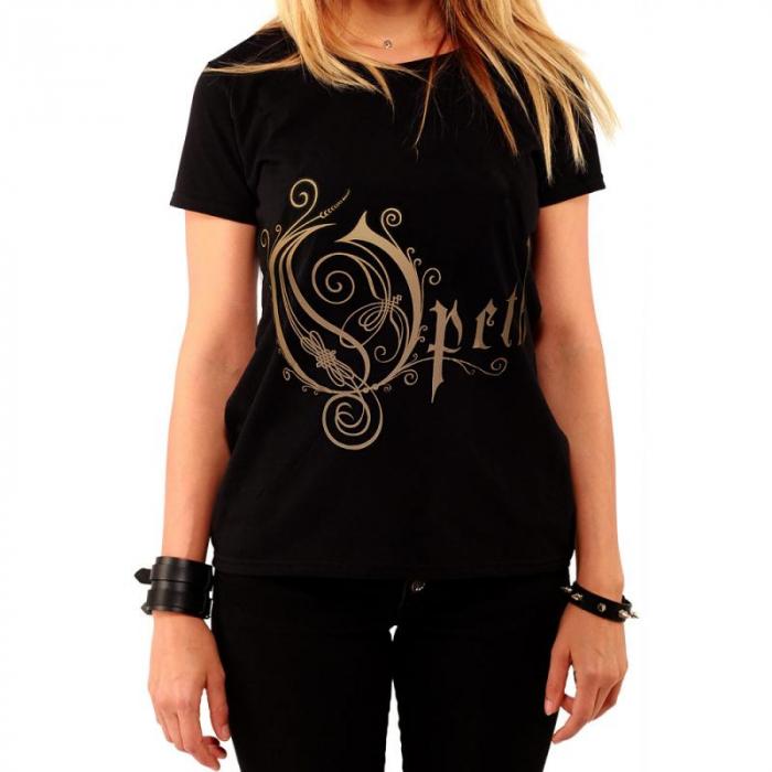 Tricou Femei Opeth - Logo 0