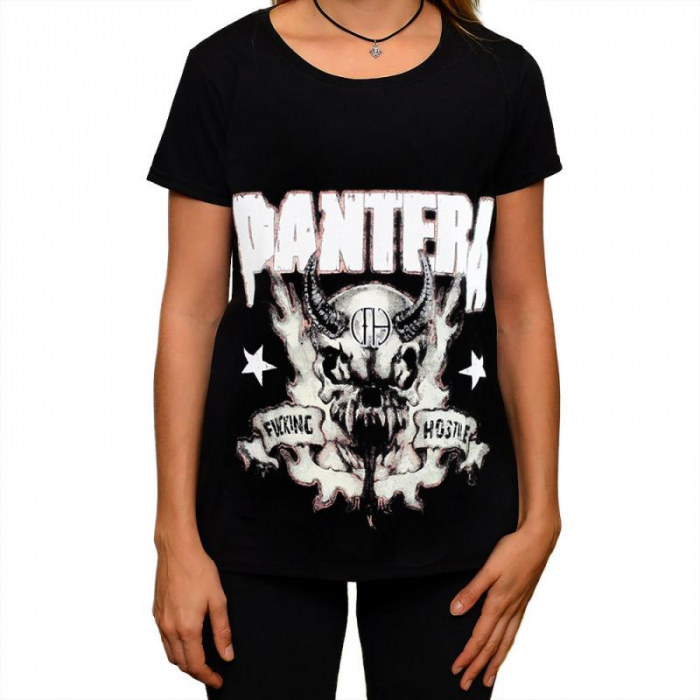 Tricou Femei Pantera - Fucking Hostile [0]