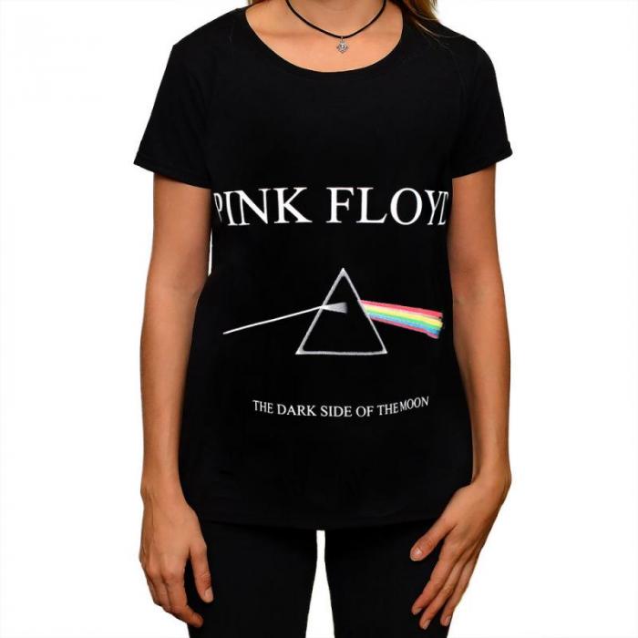 Tricou Femei Pink Floyd - The dark side of the Moon [0]