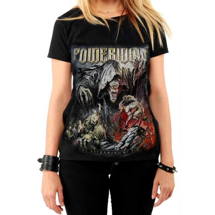 Tricou Femei Powerwolf - The Sacrament Of Sin 0